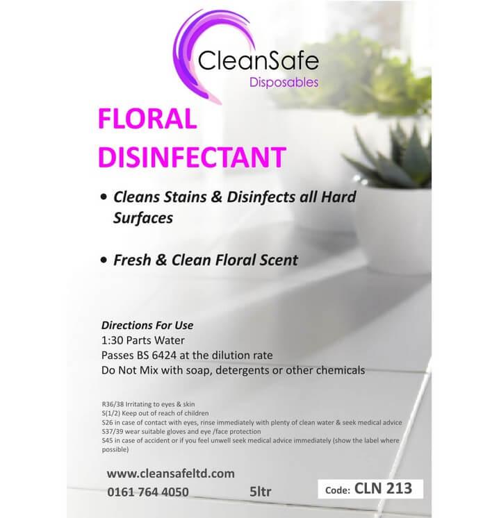 Floral Disinfectant 5ltr