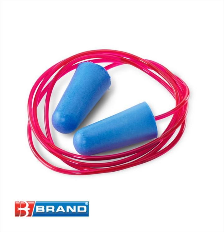 Corded Ear Plugs, Disposable (box 200 pairs)
