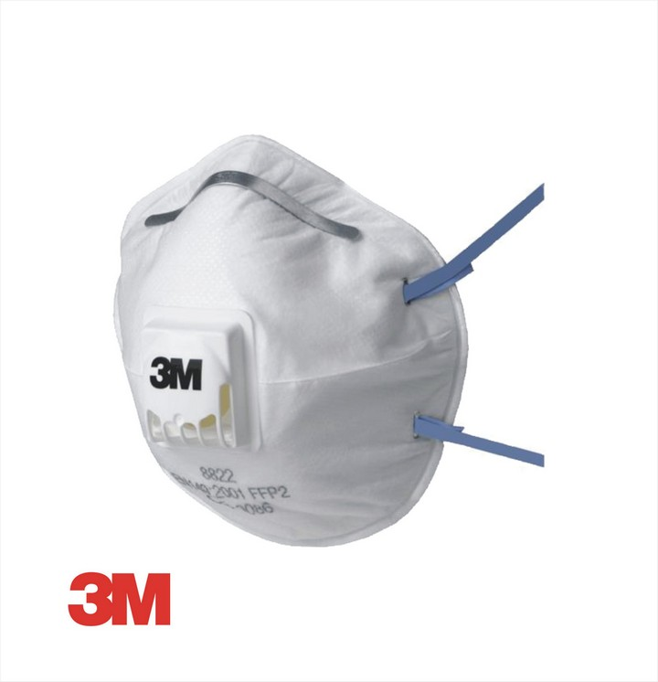 3M 8822 Dust Mask (10 pack)