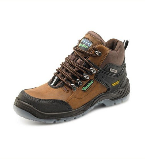 Brown Hiker Boots Safety