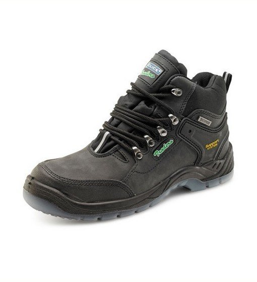 Black Hiker Boots Safety