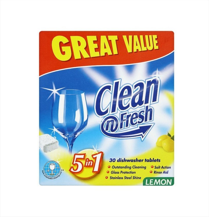Dishwasher Tablets (15 Tablets)