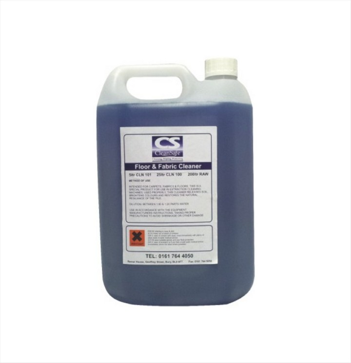 Floor & Fabric Cleaner, Low foam Blue (5 ltr)
