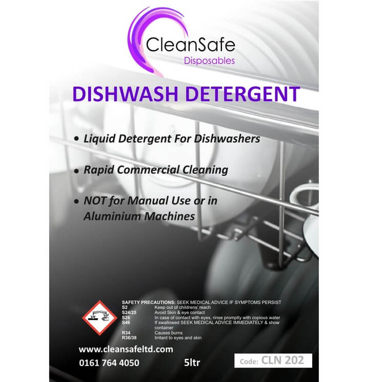 Dishwasher Detergent 5ltr
