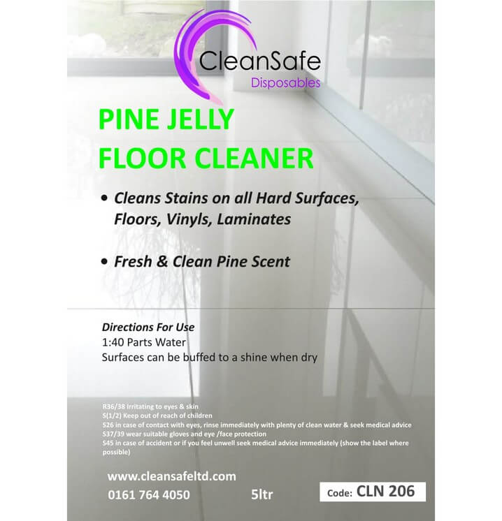 Pine Gel Floor Cleaner 5ltr