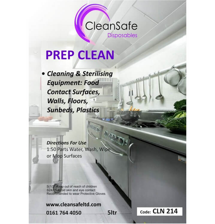 Prep Cleaner Disinfectant 5ltr