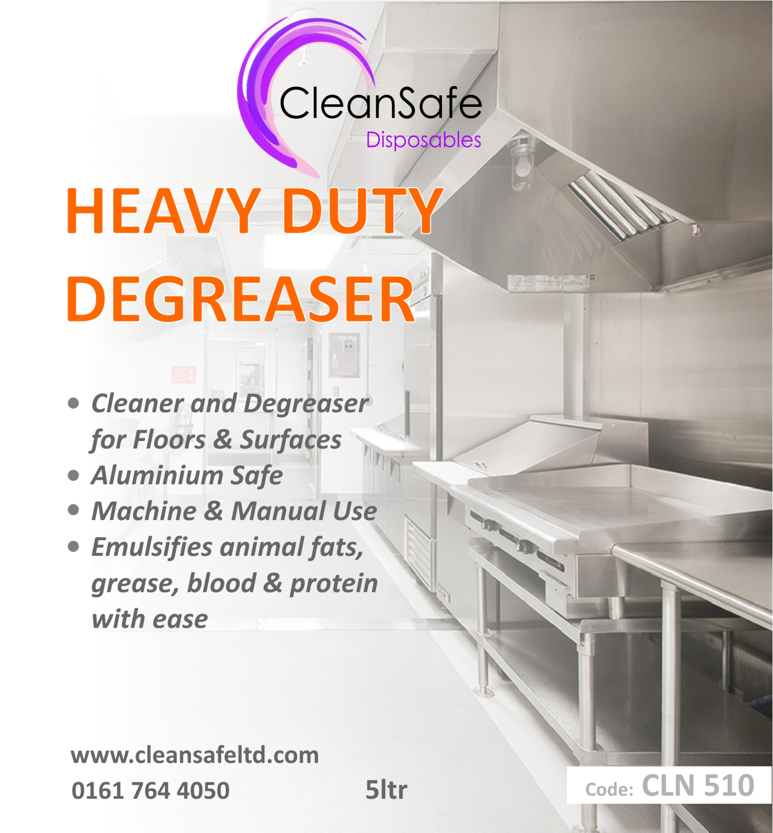 Kitchen Cleaner Degreaser (5ltr)