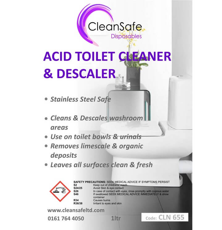 Toilet Cleaner and Descaler (1000ml)