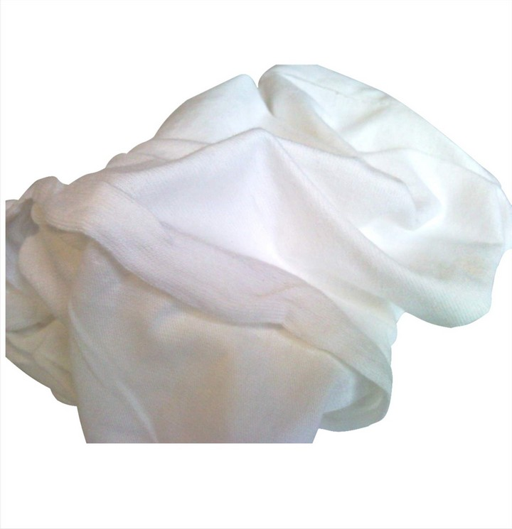 White Polishing Cloths 1Kg Bag