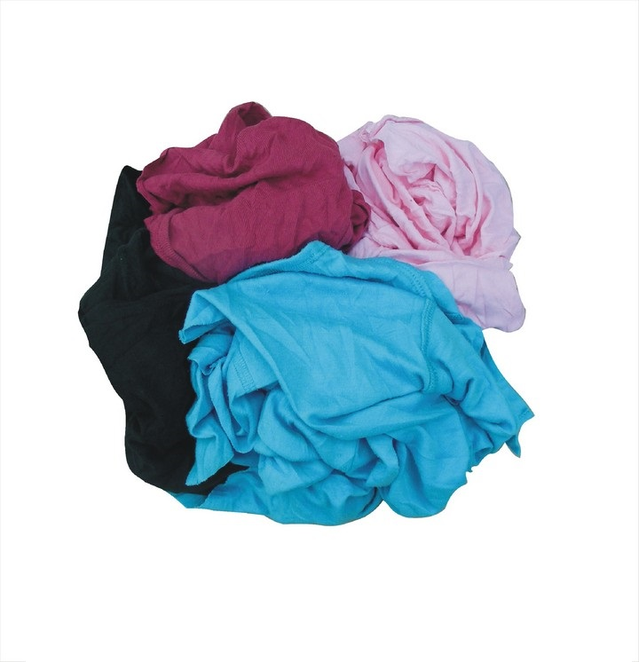 T Shirt Rags 10Kg Bag