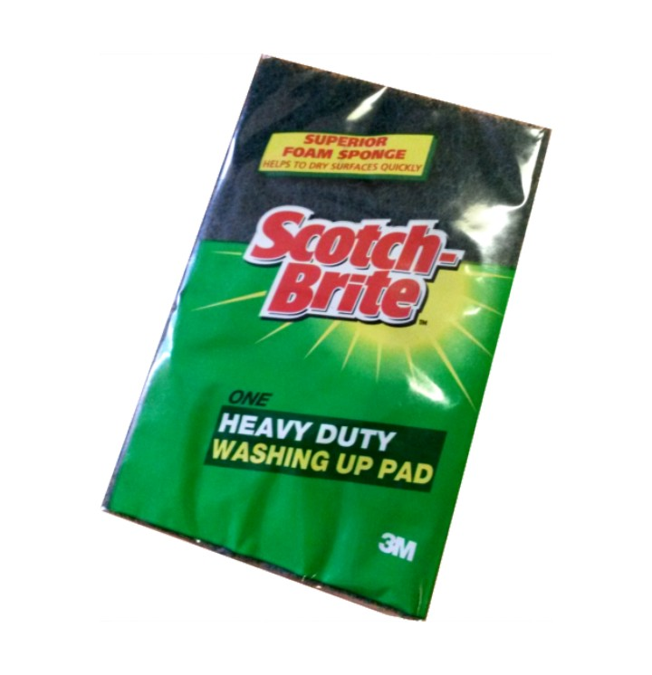 ScotchBrite Scouring Sponge (1 pack)