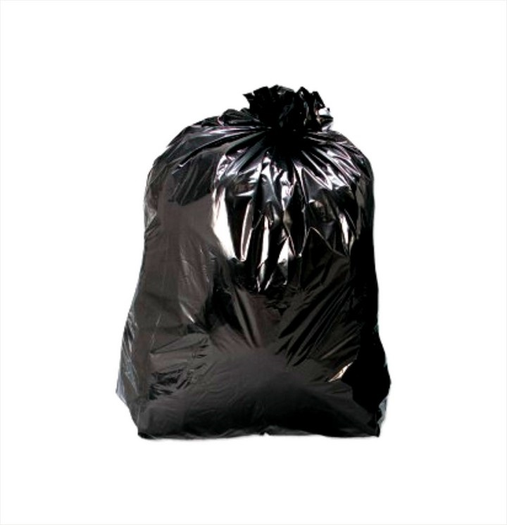 Bin Liners Heavy Duty Black (200 pack)