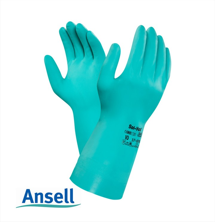 Ansell Sol-Vex Nitrile Glove