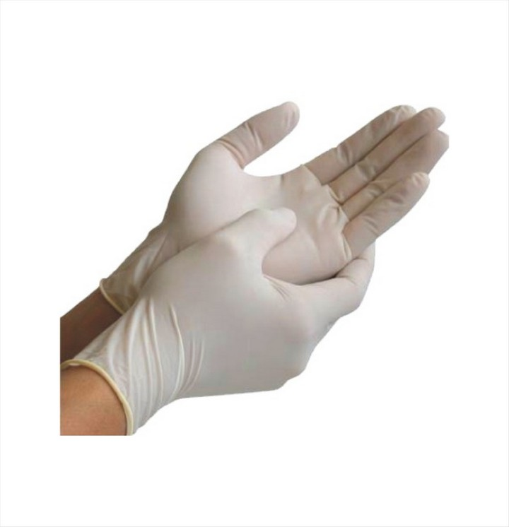 Latex Gloves Powdered (100 pack) Disposable