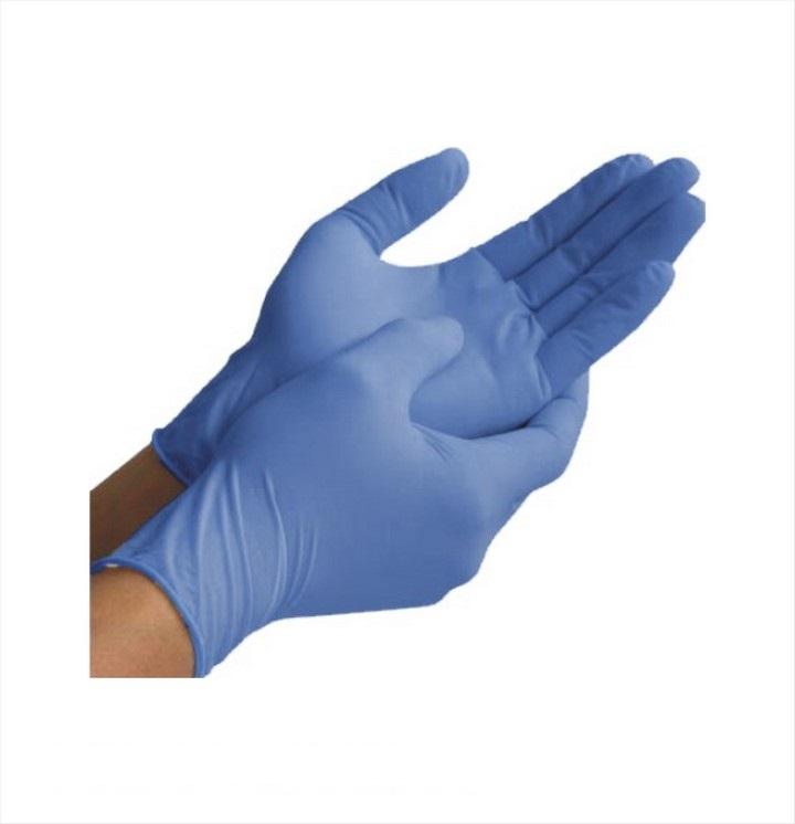 Blue Nitrile Disposable Gloves (100 pack)