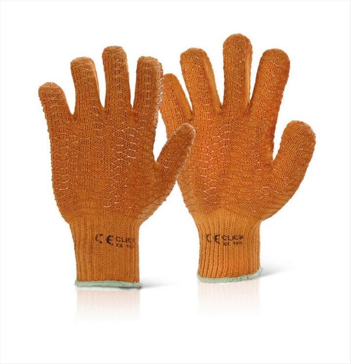 Criss Cross Gloves - Orange (1 pair)