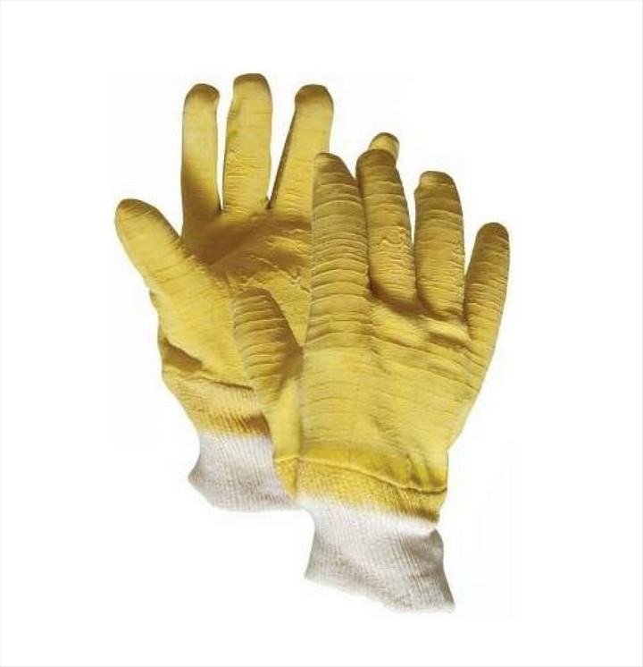 Fully Coated Latex Gloves