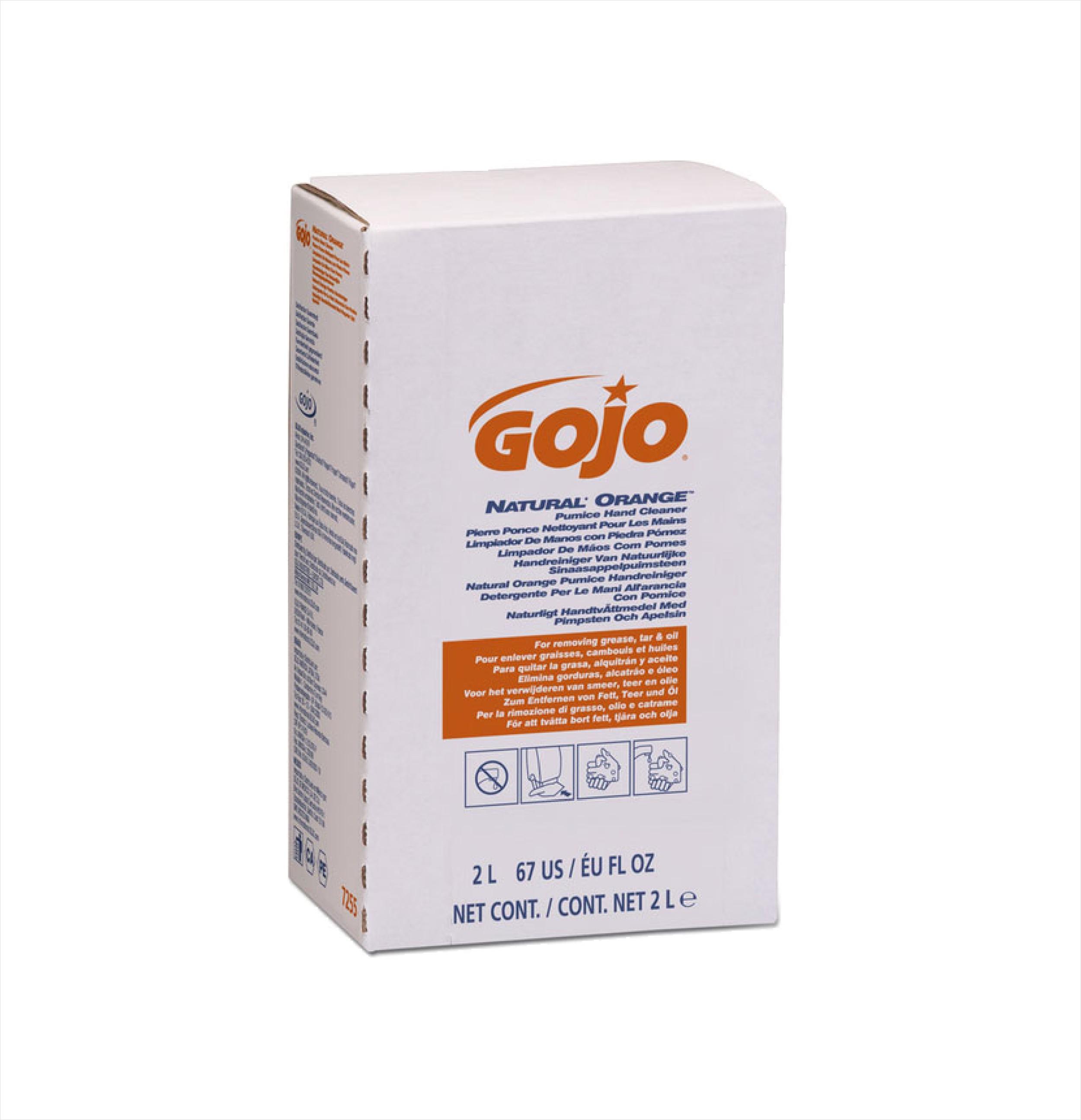 GOJO Orange Pumice 4 x 2ltr GJ7255-04