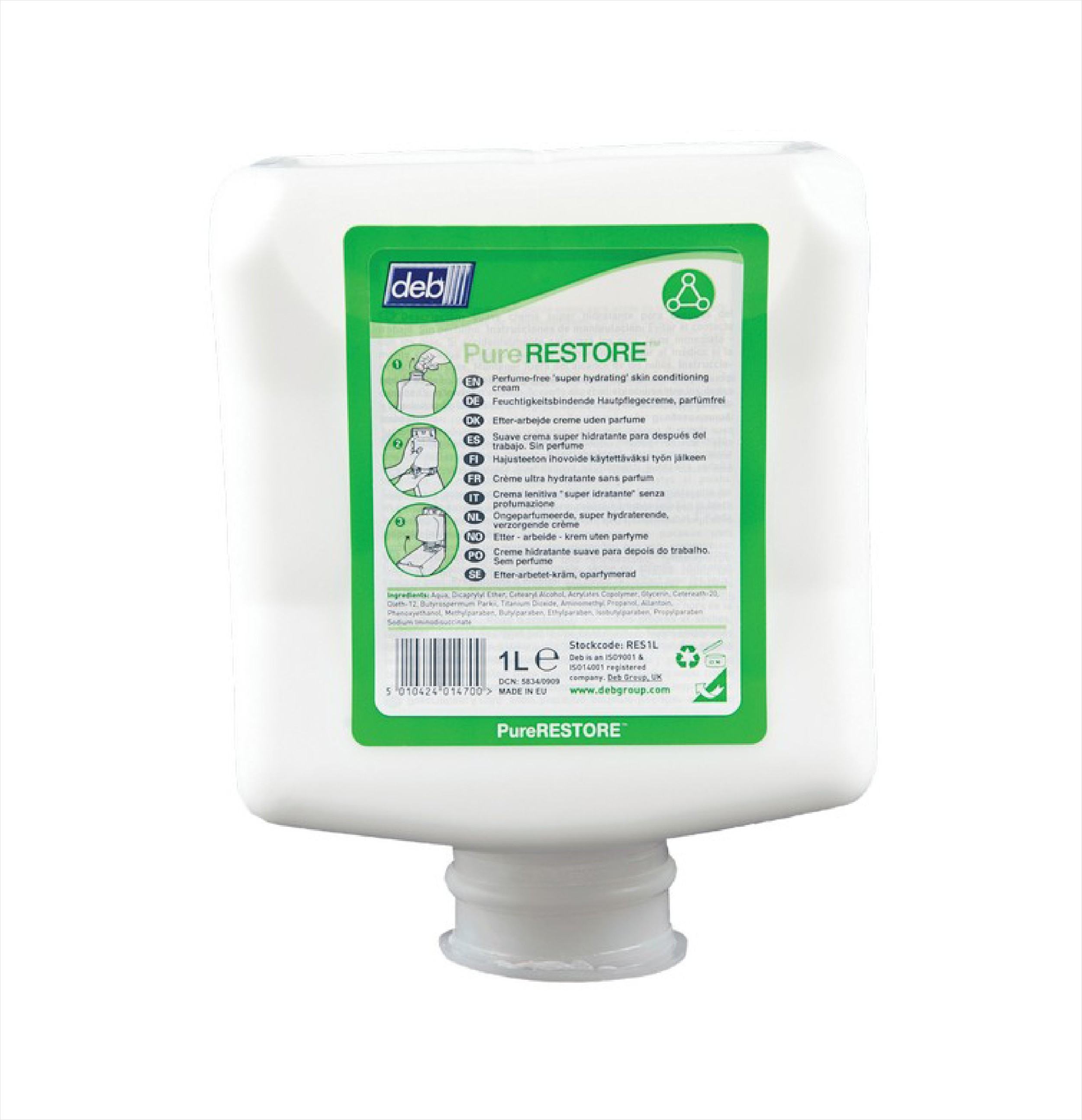 DEB Restore Cream RES1L