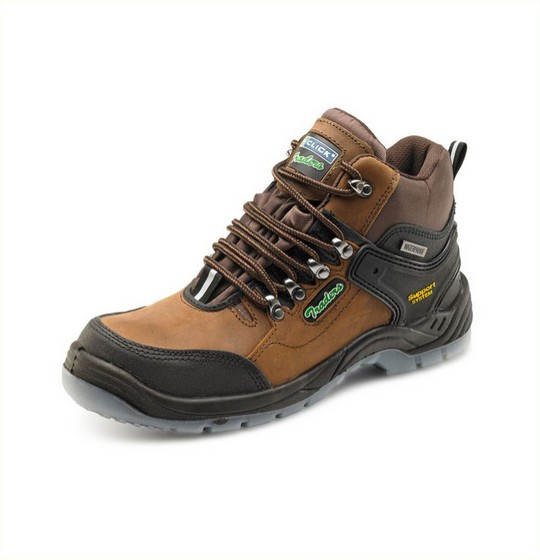 Hiker Safety Boots Brown