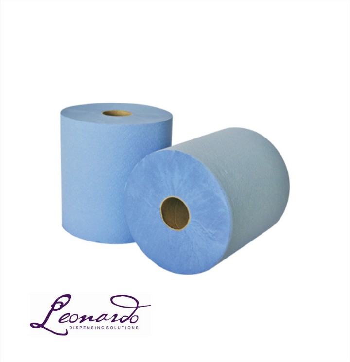 RTB175 Blue Roll Towel (6 Pk)