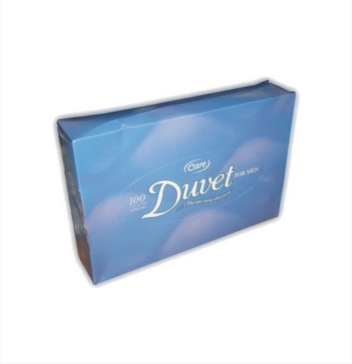 Professional Tissues, Duvet, 2 Ply White (24 packs)