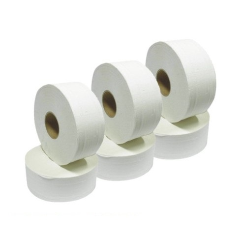 Jumbo Toilet Rolls 76mm Core (6 pack)