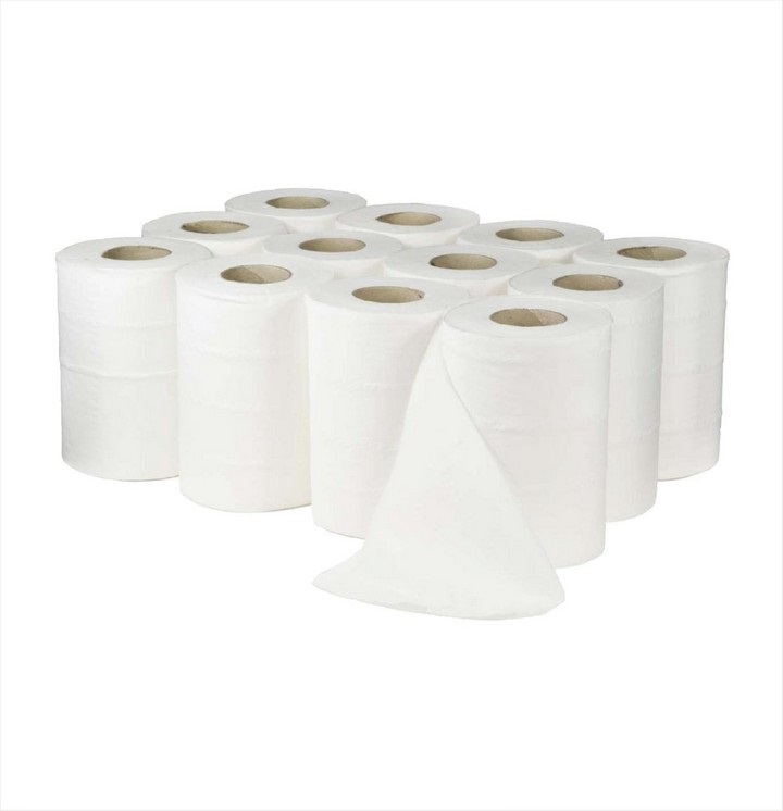 Mini Centre feed White 60M (12 pack)