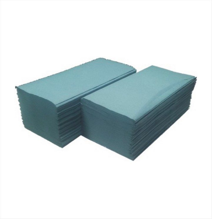 Interfold Hand Towels Blue