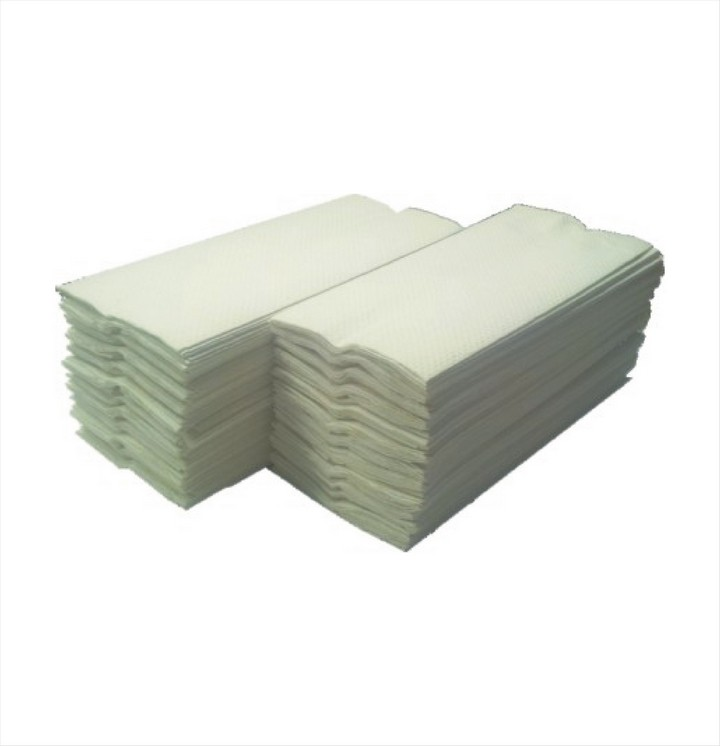 Interfold Hand Towels White