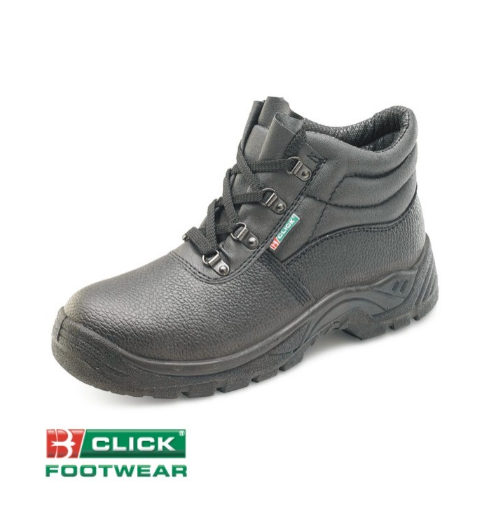 Chukka Safety Boot + Steel Midsole