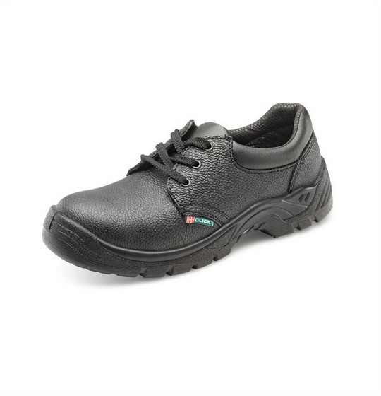 Safety Shoes Leather Effect