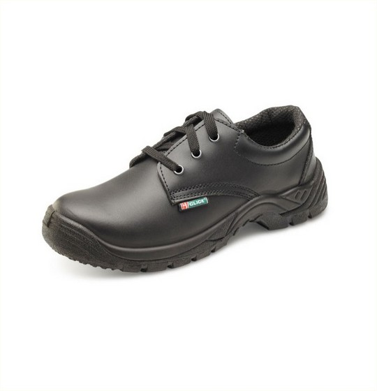 Safety Shoes Smooth Black