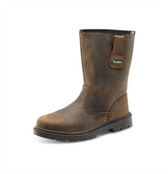 Tanned Rigger Boots