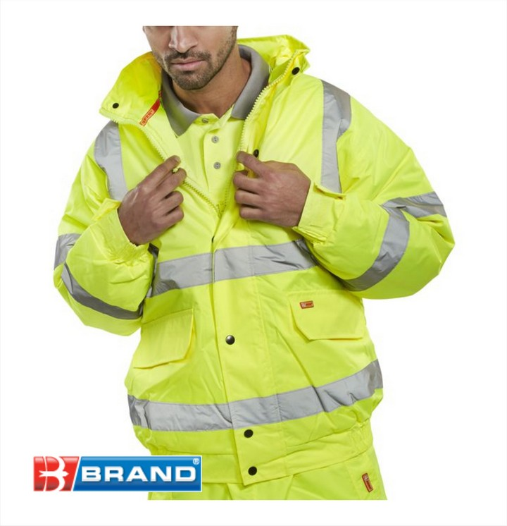 High Vis Bomber Jacket (Full Spec)