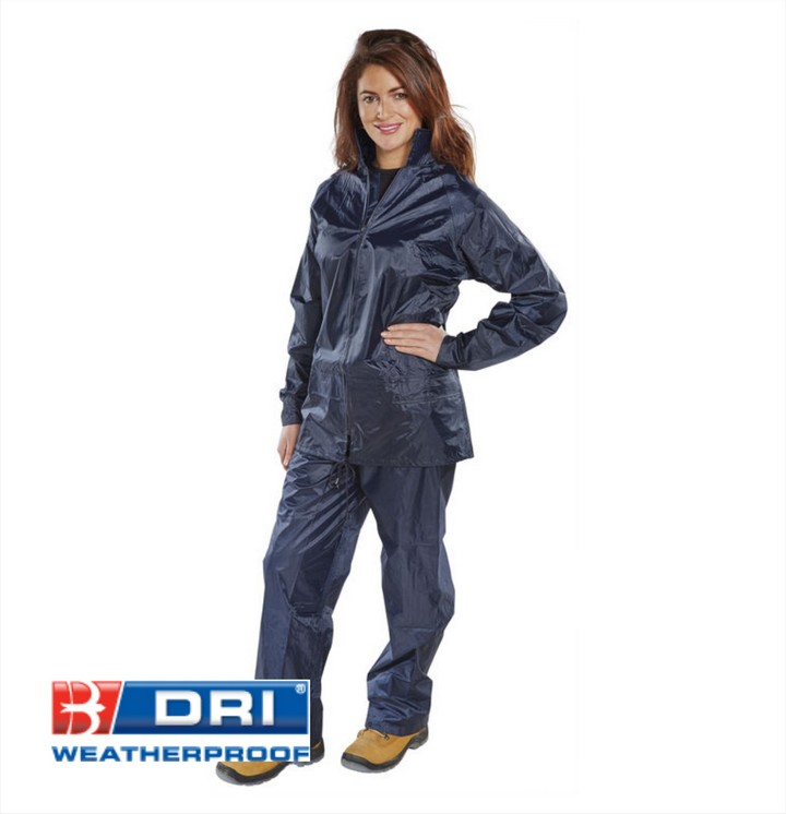 Waterproof Suit (2 Piece) Blue