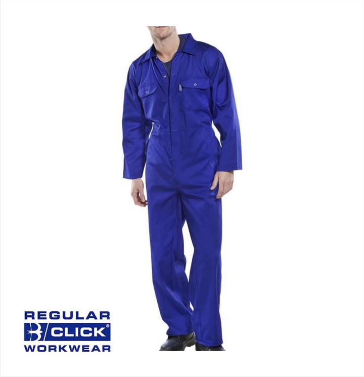 Poly Cotton Boiler Suit