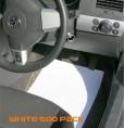 White Car Floor Mats 500 pack