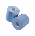 Embossed Centre Feed Blue Roll (6 pack)