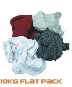 CLO 510 Cleaning Rags 10Kg | Cleaning Cloths Importer Direct