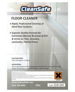 Floor Cleaner Tile Laminate 25ltr | Cleaning Supplies Direct