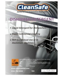 CLN 202 Dishwasher Detergent 5ltr | Cleaning Supplies