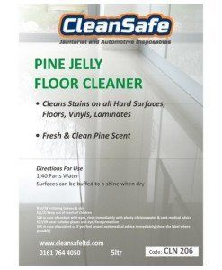 CLN 206 Pine Gel Floor Cleaner | Cleaning Supplies Manufacturer