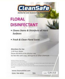 Floral Disinfectant 5ltr | Cleaning Supplies