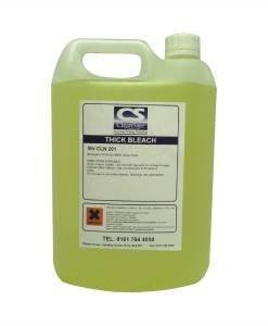 CLN 201 Thick Bleach 5ltr | Cleaning Supplies Manufacturer