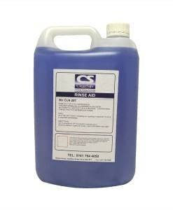 CLN 207 Rinse Aid 5ltr | Cleaning Supplies Manufacturer