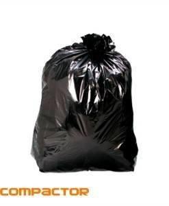 CTE 100 Compactor Sacks Black | Bin Bags| Cleaning Tools Importer