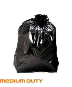 CTE 104 Bin Liners | Black Bin Bags | Cleaning Tools Importer