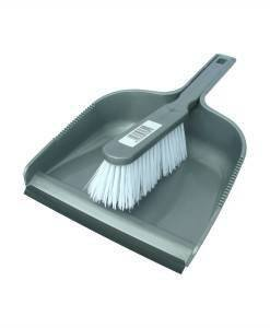 CTE 208 Dustpan and Brush | Brooms Brushes | Cleaning Tools Direct