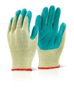 GLV 708 Economy Grip Gloves Green | Gloves Direct